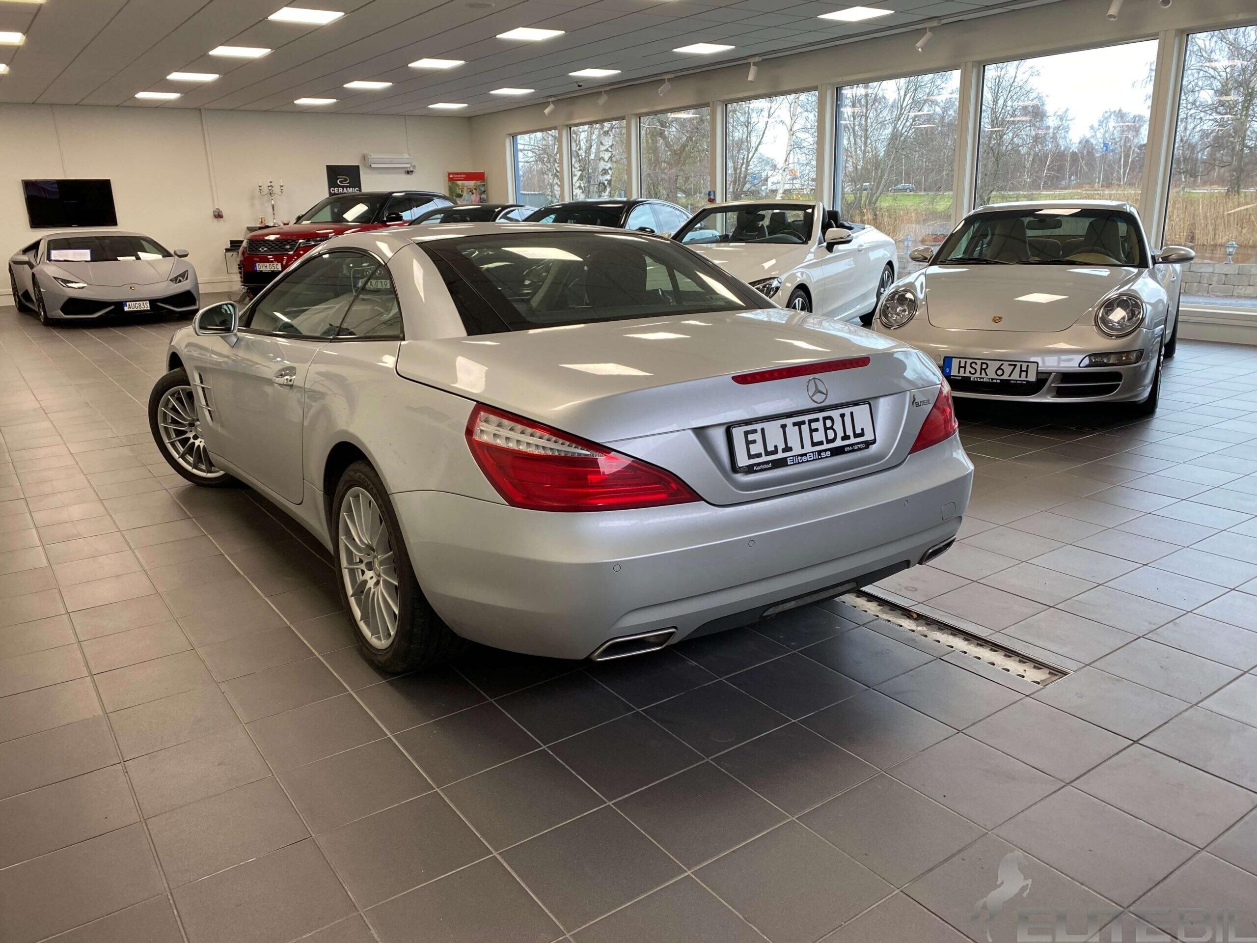 Mercedes-Benz SL 350 7G-Tronic 306hk Bör Ses (1)