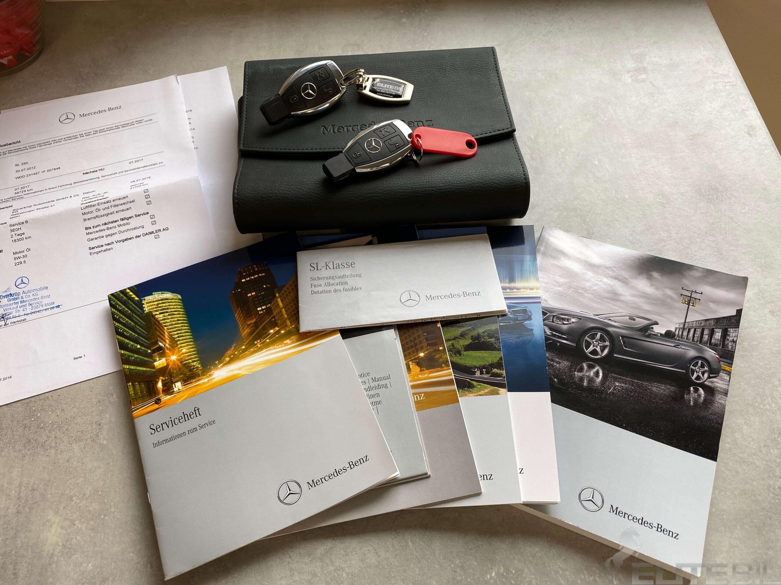 Mercedes-Benz SL 350 7G-Tronic 306hk Bör Ses (19)