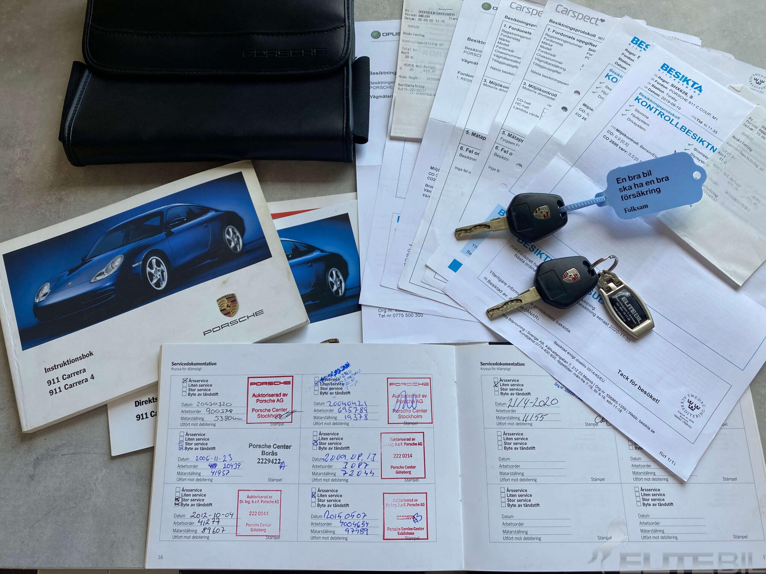 Porsche 911 996 Carrera 301hk Sv.Såld (16)