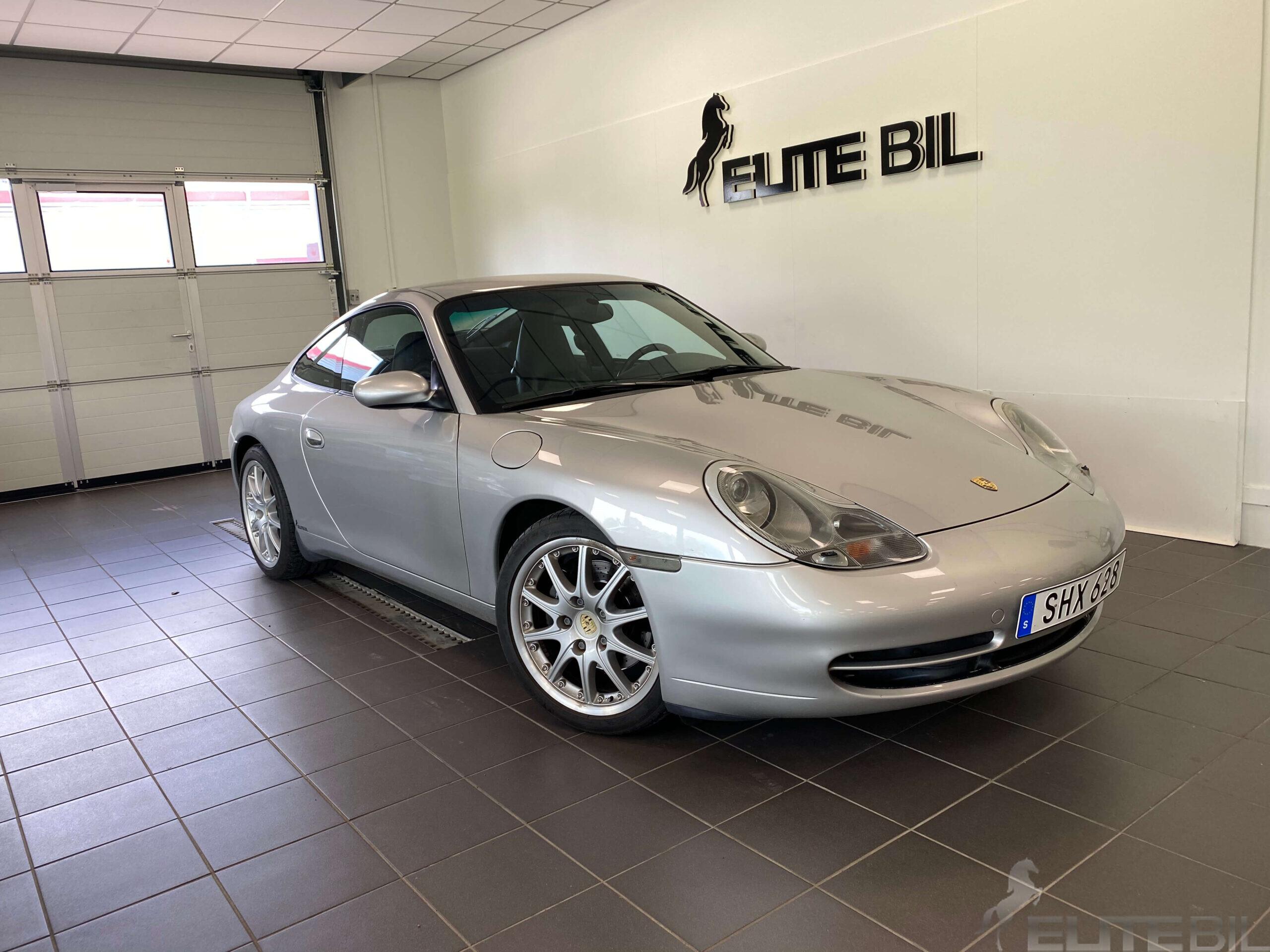Porsche 911 / 996 Carrera 301hk Sv.Såld